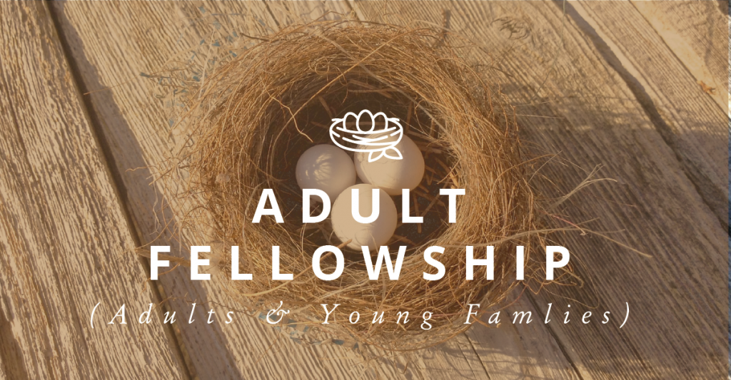 Adult Fellowship (Adults & Young Couples)