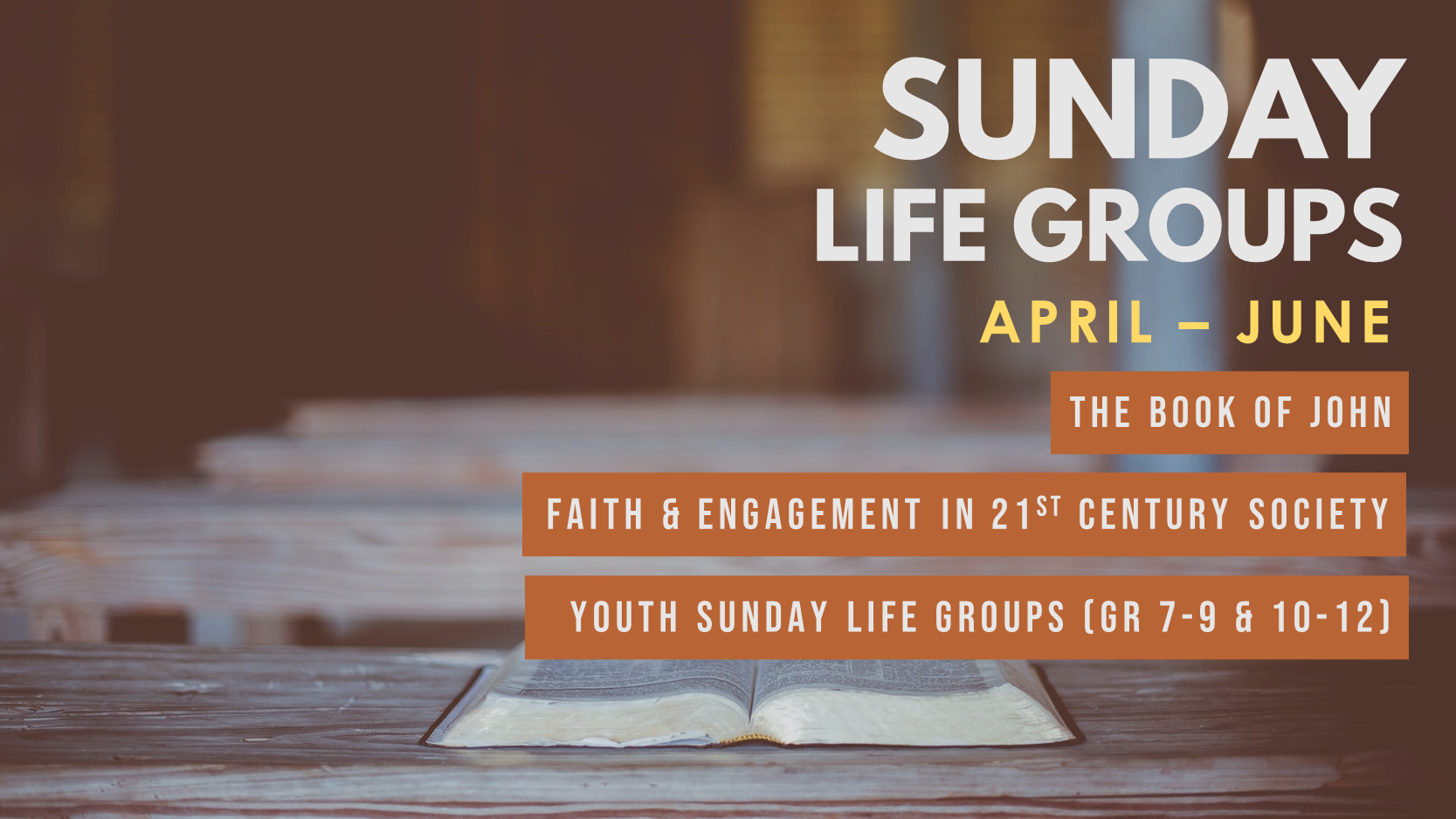 """Featured image for """"Sunday Life Groups (Apr – Jun)"""""""
